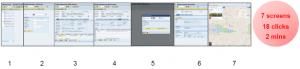 Transação SAP ERP normal